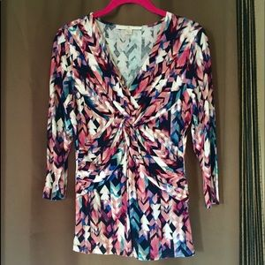 EUC Boston Proper 3/4 Sleeve Blouse - Small